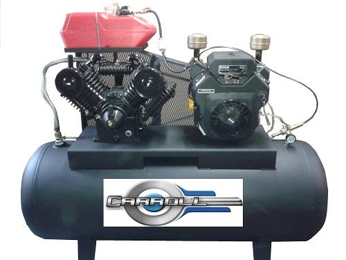 compresor de aire de gasolina. car-h510ga-k23e compresor de aire a gasolina con motor 23 hp kohler compresor de aire gasolina